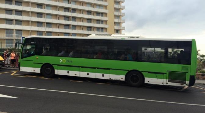 Veřejná autobusová doprava na Tenerife