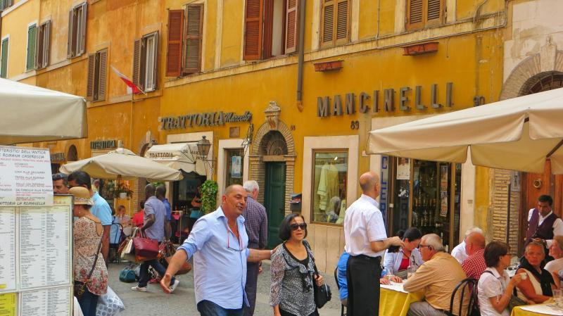 Římská restaurace.