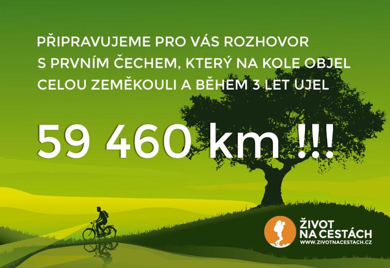 Rozhovor s prvním Čechem, který objel Zeměkouli na kole, Vítězslavem Dostálem.