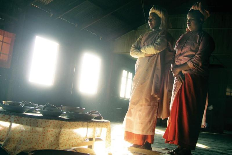 Do tohoto kláštera v Barmě šlapal Honza Homola se spolucestovateli několik dnů pěšky. Byli první běloši, kteří klášter navštívili.