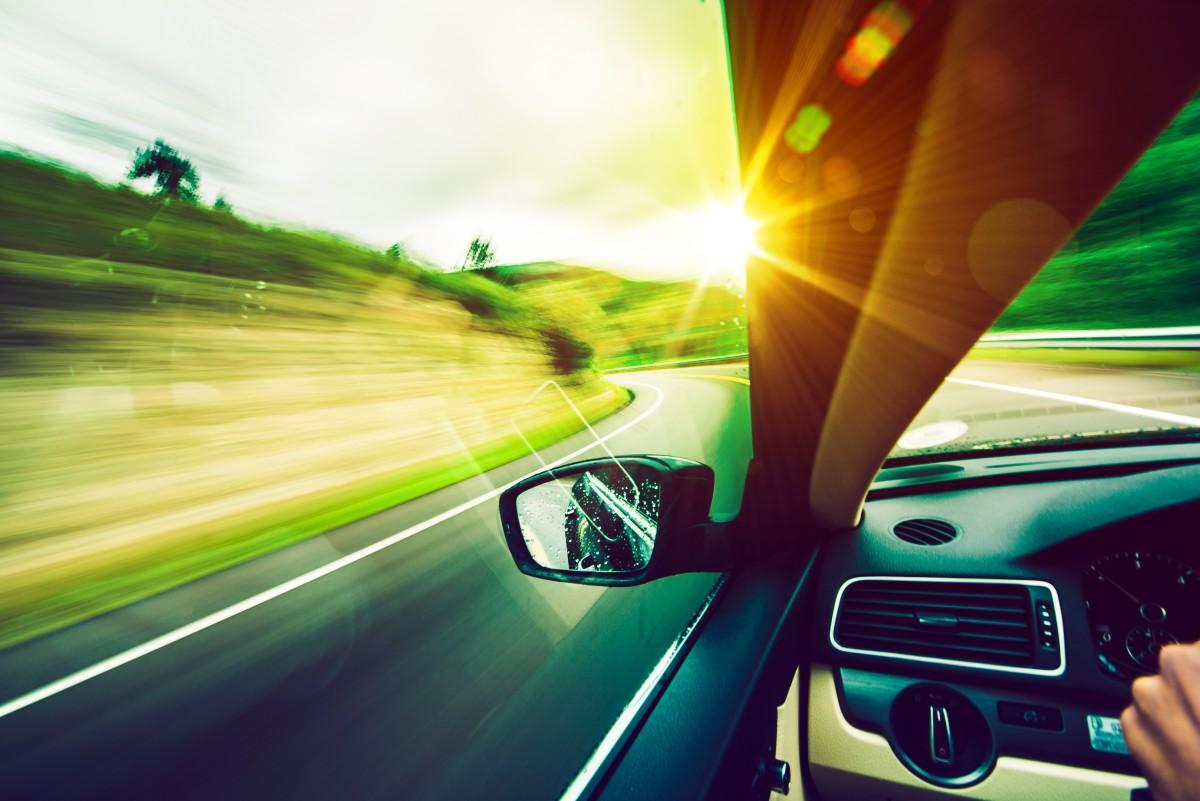 Cestování, auto, cesta