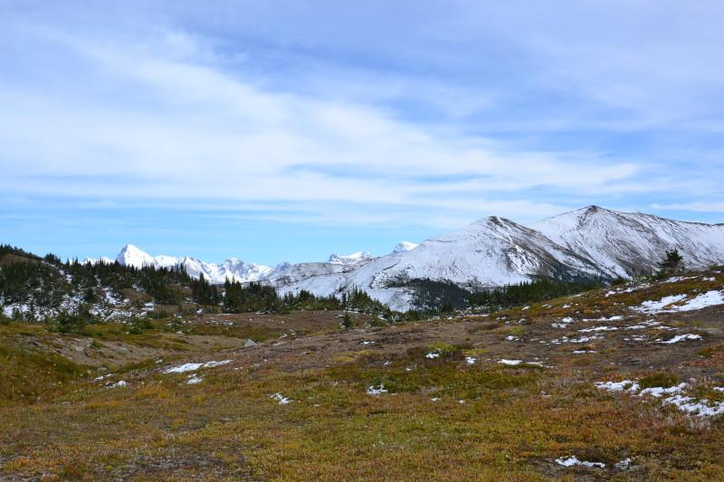 Krásná příroda v národním parku Jasper.