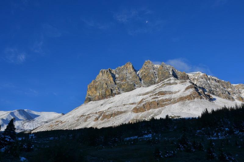 Hora Tekarra v národním parku Jasper.