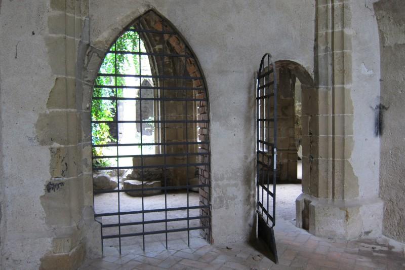 Rosa coeli - rekonstruované části vnitřních prostor kláštera