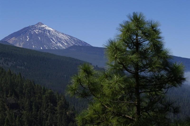 Nejvyšší hora Španělska - Pico del Teide na Tenerife na Kanárských ostrovech.  Poměrně častý cíl treků, na kterých Milan Jána doprovází klienty.