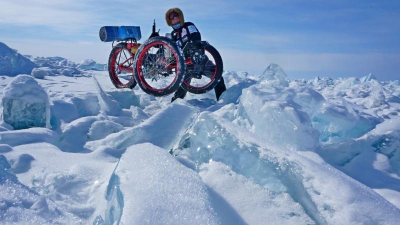 Jan Žďánský - přes zamrzlý Bajkal