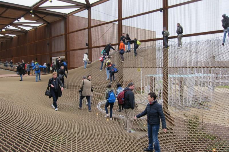 Alternativní vstup do braziského pavilonu, Expo 2015