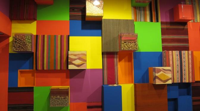 V bolivijské expozici, Expo 2015