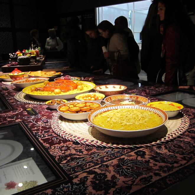 """Marocké jídlo - jako """"živé"""""""