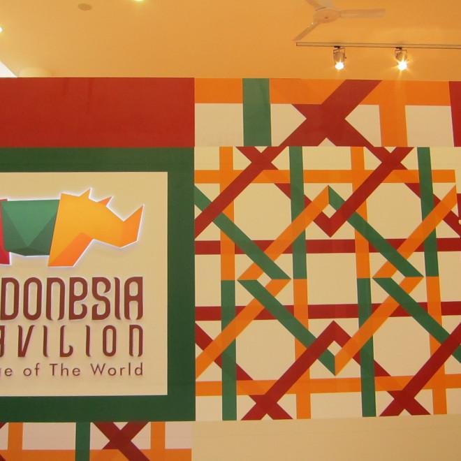 Indonéský pavilon, Expo 2015