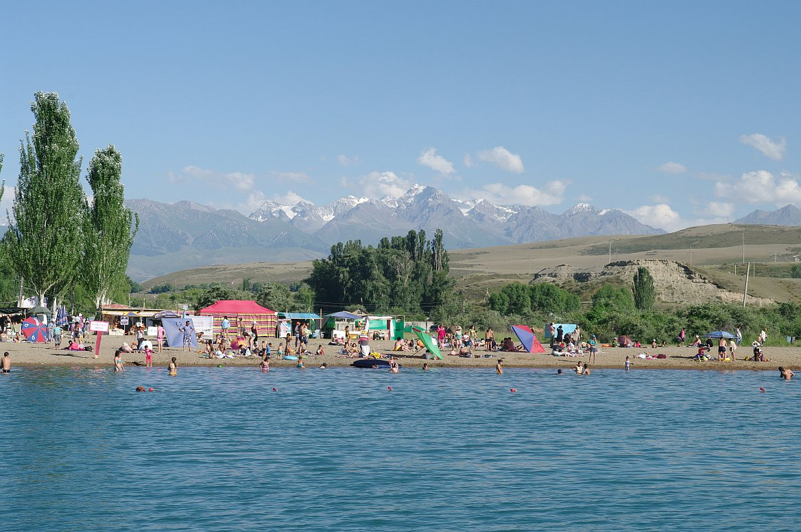 Kyrgyzstán, Těrskej Alatau