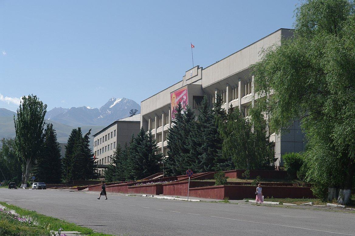 Kyrgyzstán, Převalsk, Těrskej Alatau