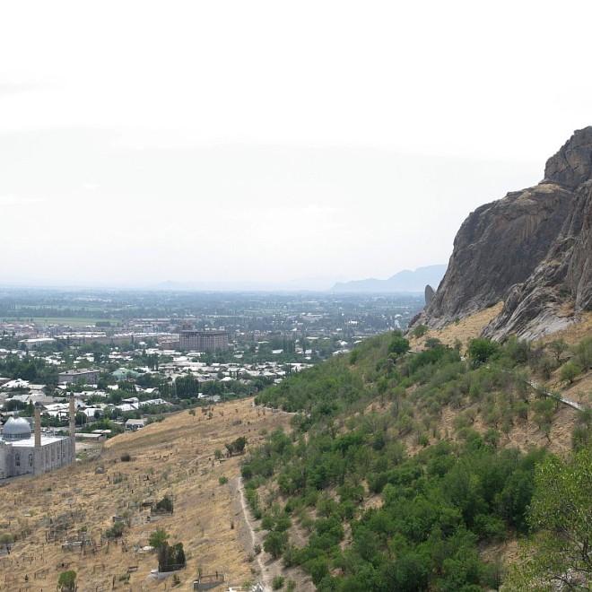 Kyrgyzstán, Ferganská kotlina