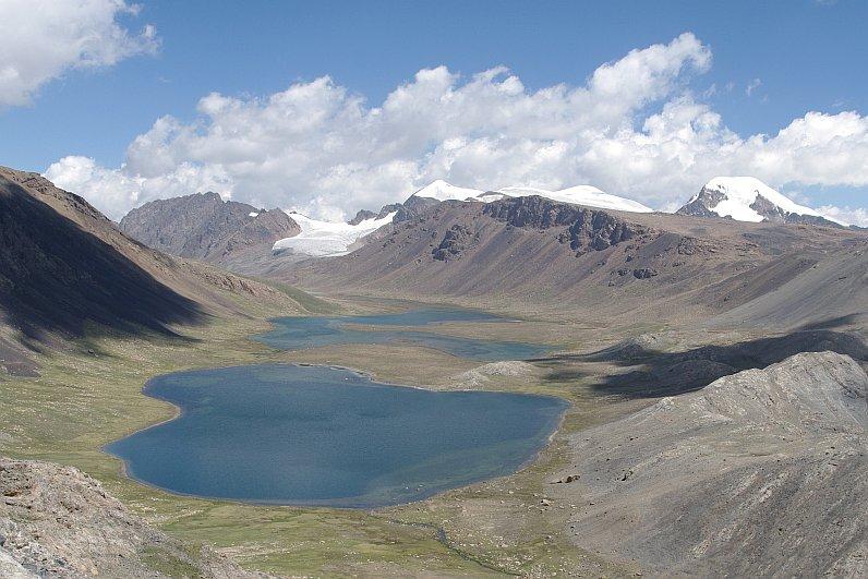 Jižní svahy Těrskej Alatau, Kyrgyzstán