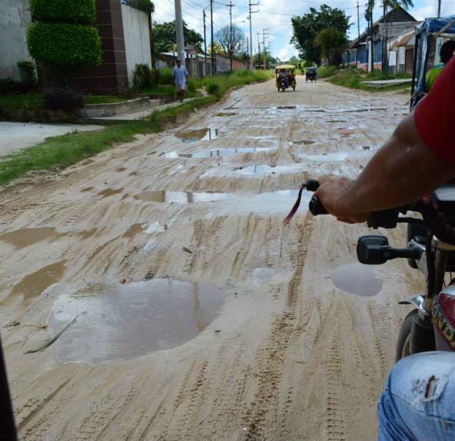 cesta v Iquitos