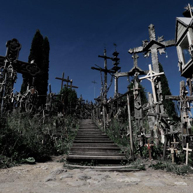Úchvatná hora křížů v Litvě