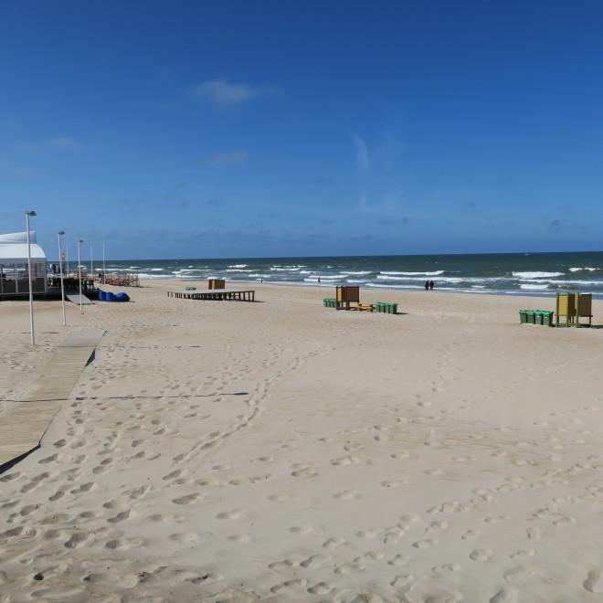 Pláž v Palanze, Litva