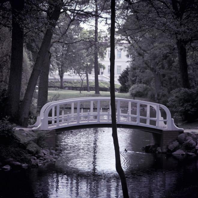Most v botanickém parku v Palanze