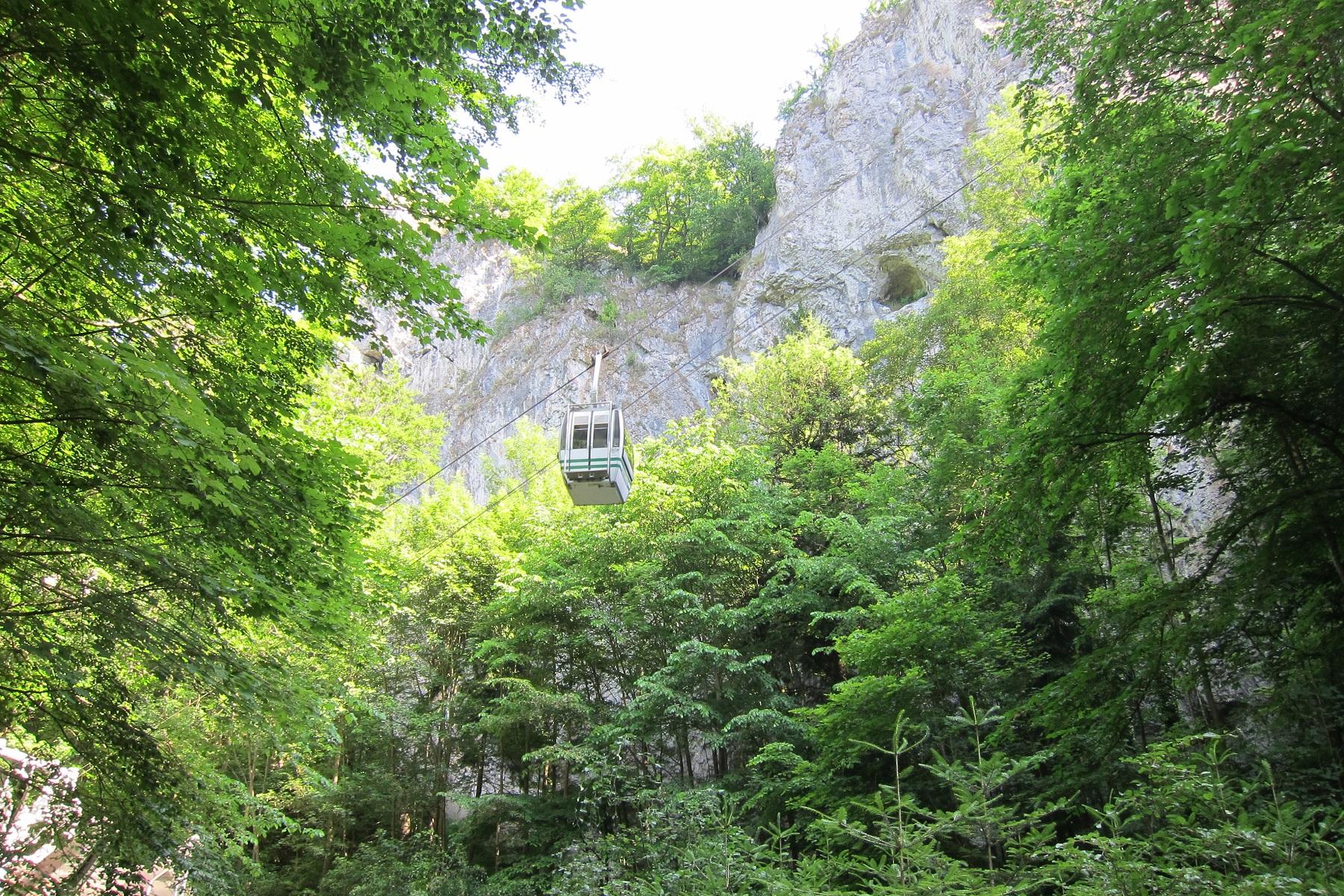 Lanovka Punkevní jeskyně - Macocha
