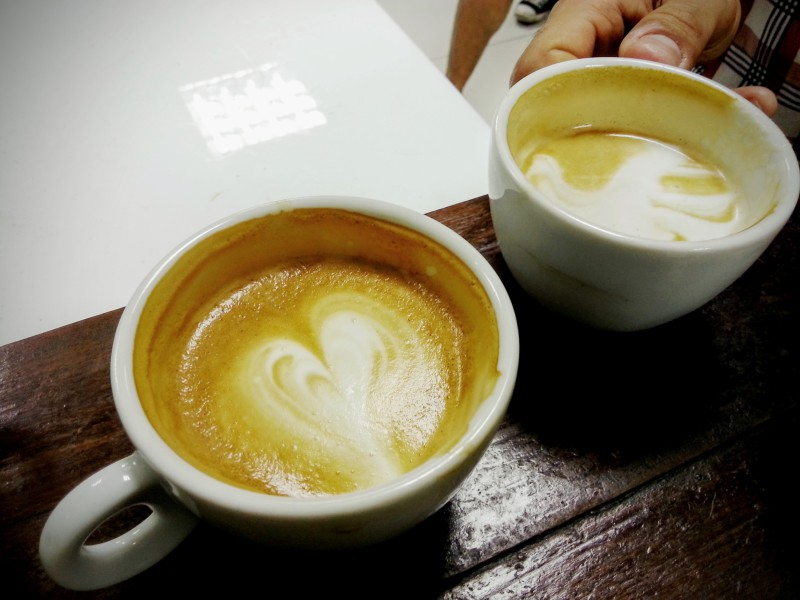 Káva, capuccino