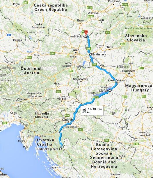 Balkán 2015 - Cesta zpět