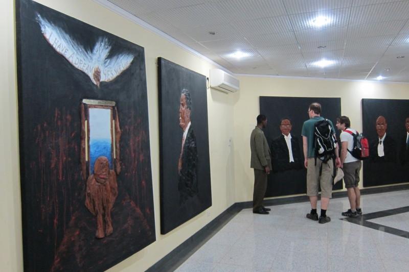 Vnitřní prostory monumentu - muzeum