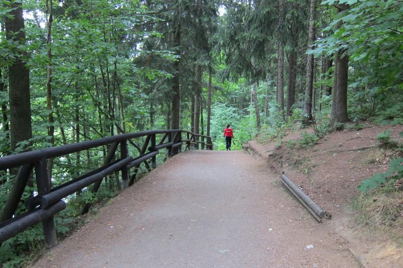 Cesta pro pěší a cyklisty aneb nejen asfaltem živ je člověk