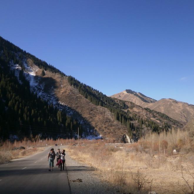 Cesta k jezeru