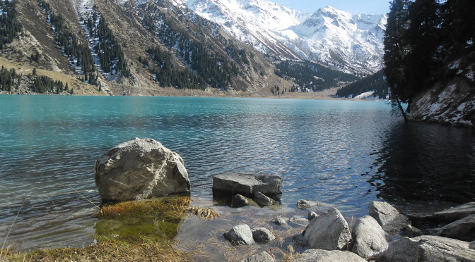 Poklady předhůří Ťan Šanu v okolí Almaty