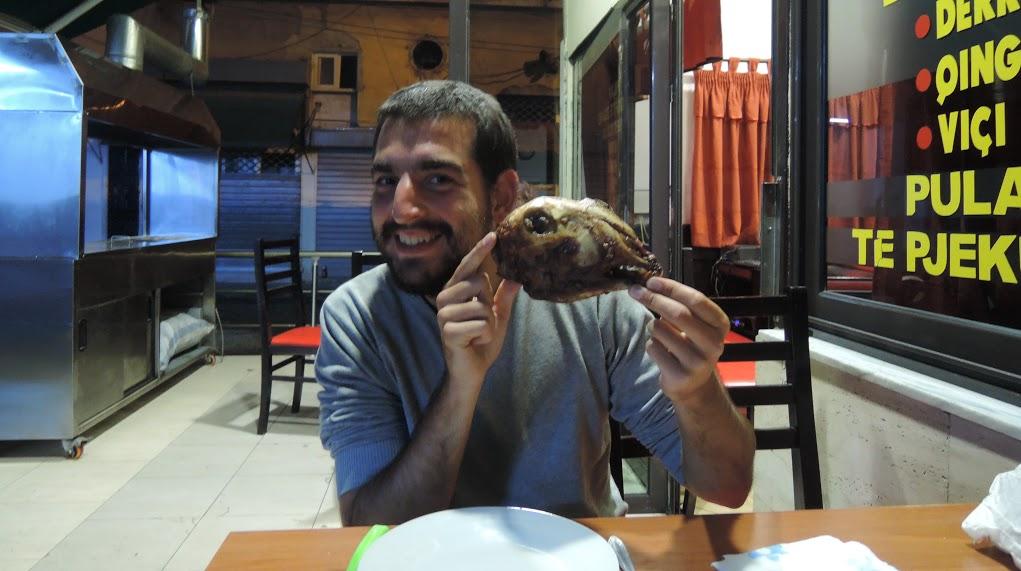 Pavel Klega, cesta kolem světa, stopování, dobrodružství, jídlo
