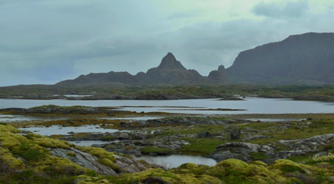 Sama na norském ostrově Leka