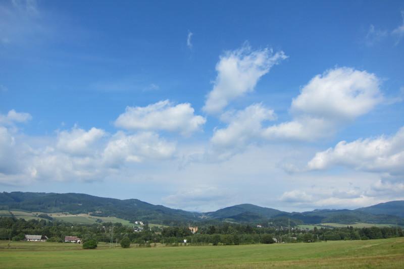 Nad Rapotínem - pohled směrem k Velkým Losinám