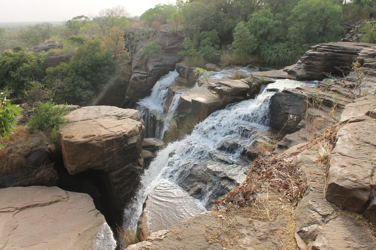 Kafiguela vodopády v Burkina Faso