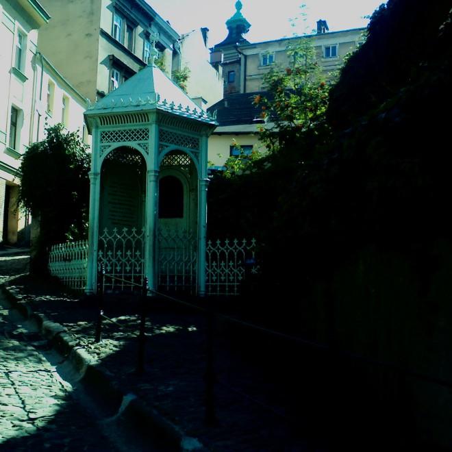 Místo kde údajně dle legendy vzniklo město Těšín.