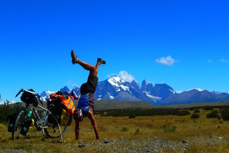 Pavel Kadlíček - cyklovýprava Patagoniabike