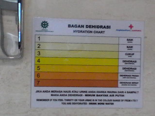 Kontrola hydratace na letišti v Denpassaru.