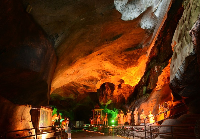Batu Caves Mahabharata Caves, Kuala Lumpur, Malajsie