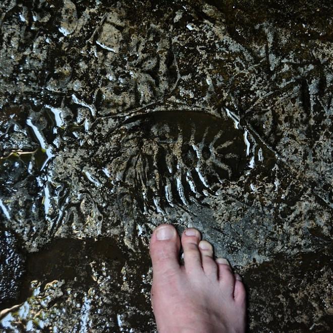 Batu Caves - evidentně tady byl už někdo přede mnou.
