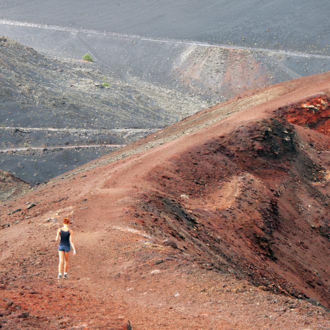 Sopka, Kanárské ostrovy
