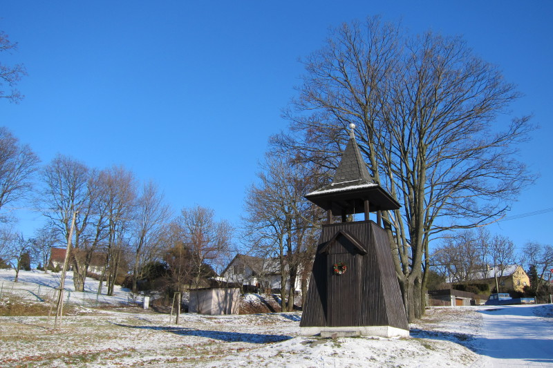 Pohořany - zvonice