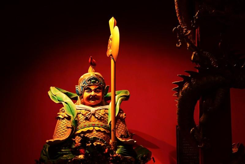 Kuala Lumpur, Malajsie - Jeden z chrámů v Čínské čtvrti