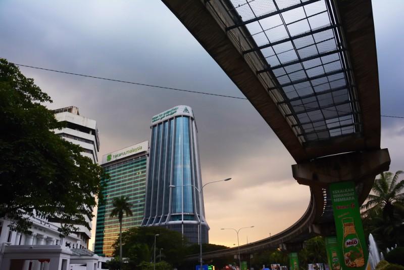 Kuala Lumpur - nedaleko Čínské čtvrti