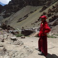 S mnichem na Stok Kangri, Himálaj