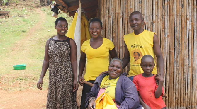 Podporujeme Museveniho