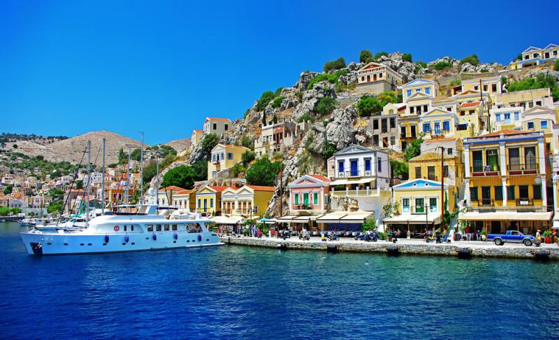 Symi Bay, Řecko