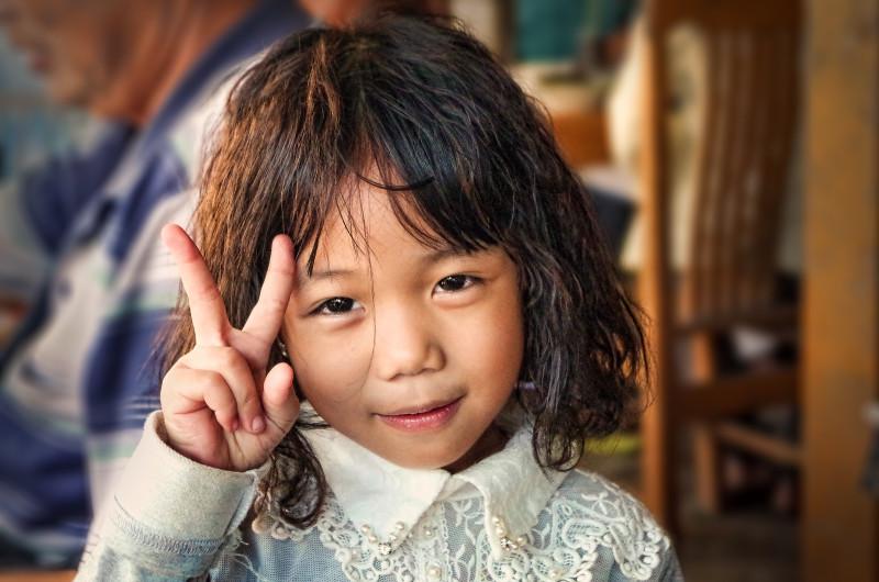 Děti jsou v Myanmaru úžasné :-)