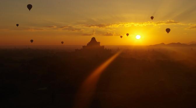 Kouzelný Bagan – klenot Myanmaru