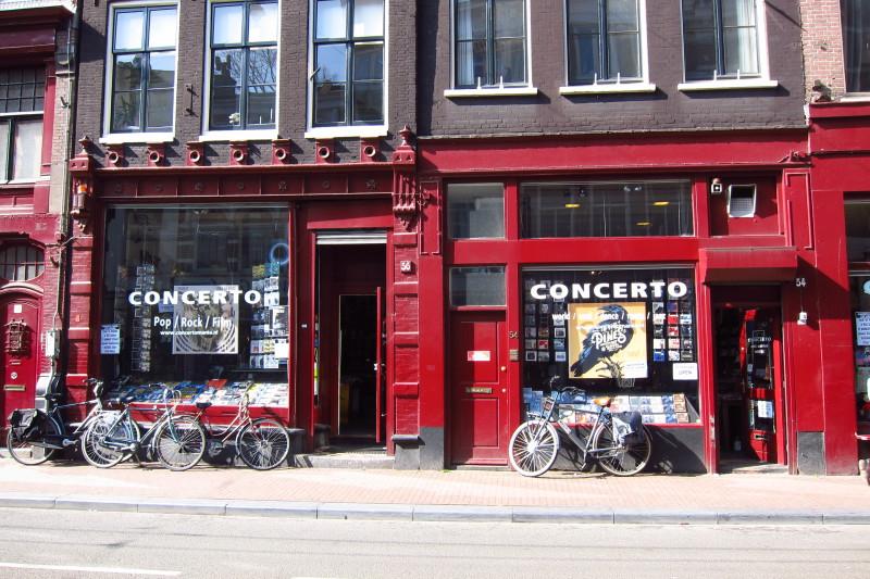 Na kole za nákupem muziky