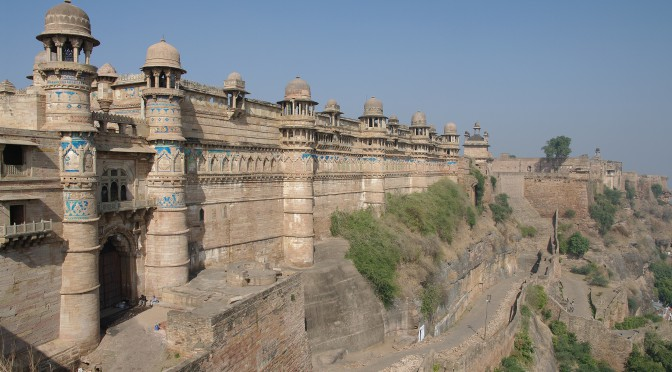 Gwalior – učebnice indické architektury