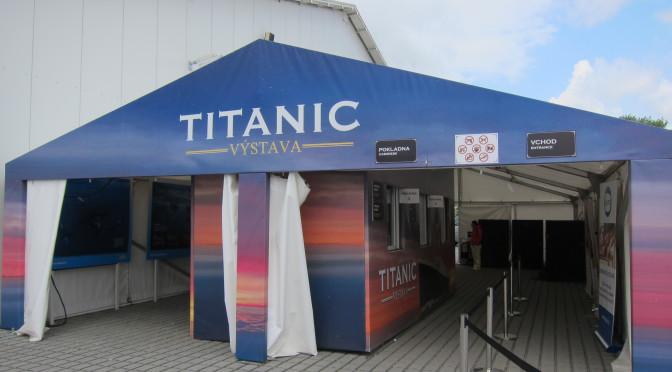 Výstava Titanic Praha